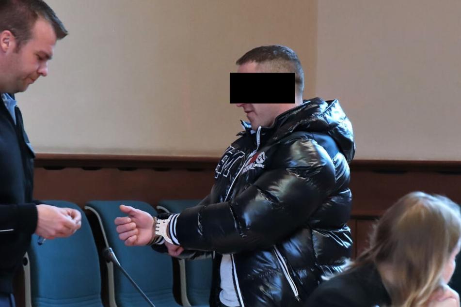 Der Mann kam am Freitag vor Gericht.
