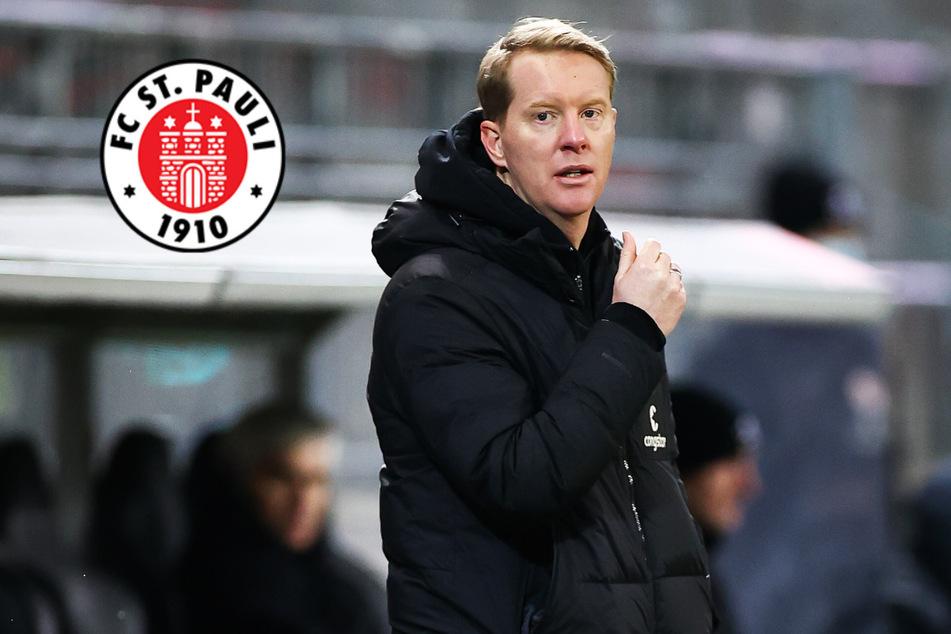 """St.-Pauli-Trainer Schultz: """"Abstand nach unten ist weiterhin eng"""""""