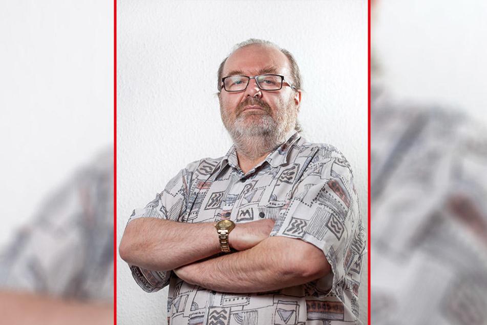 """Linken-Stadtrat Thomas Scherzberg (56) warnt vor den Folgen eines """"Blackout"""". Das Thema müsse näher an die Bevölkerung herangetragen werden."""