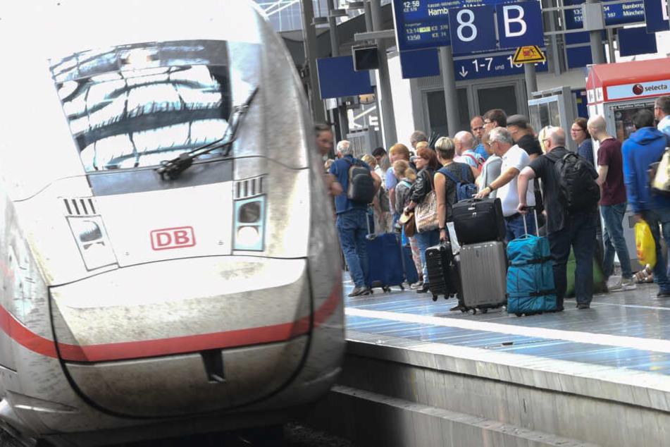 Oberleitungsstörung: Behinderungen zwischen Frankfurt und Mannheim dauern an