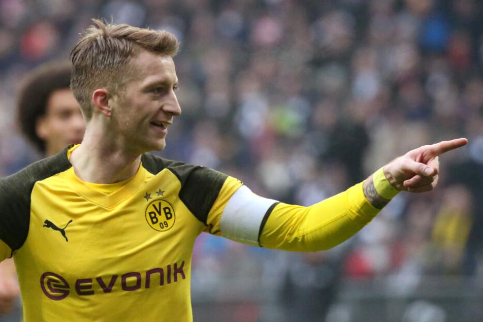 BVB-Kapitän Marco Reus wird das Spiel vermutlich verpassen.