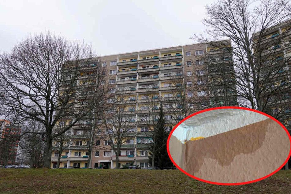 Chemnitz: Hier fiel Weihnachten ins Wasser! Vandalen fluteten Plattenbau: 16 Wohnungen überschwemmt