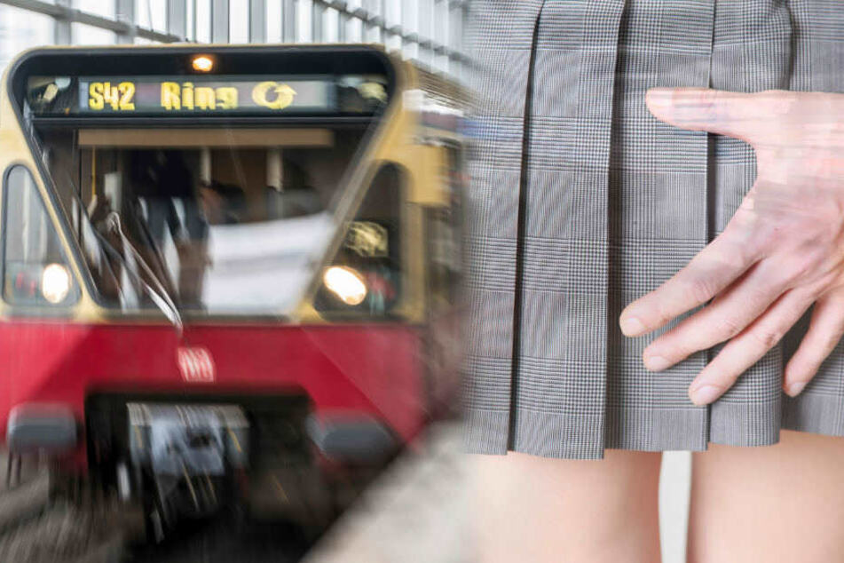Eine Frau wurde in einer S-Bahn sexuell belästigt. (Symbolbild)