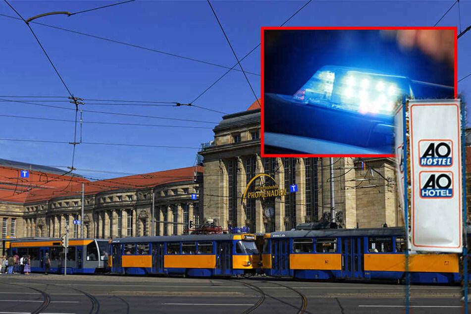 Am Samstagvormittag fand man im A&O-Hostel am Leipziger Hauptbahnhof eine Bombenattrappe, jetzt laufen die Ermittlungen gegen den 56-jährigen Tatverdächtigen. (Symbolbild)