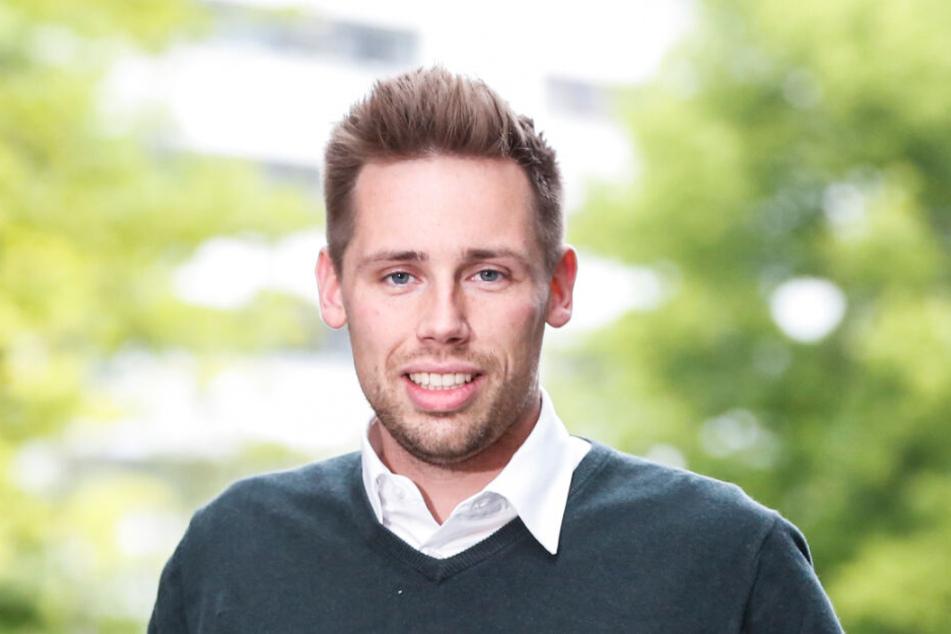 """Florian Oest (32), Chef der Jungen Union in Sachsen, bringt ein Verbot der Partei """"Die Linke"""" ins Spiel."""