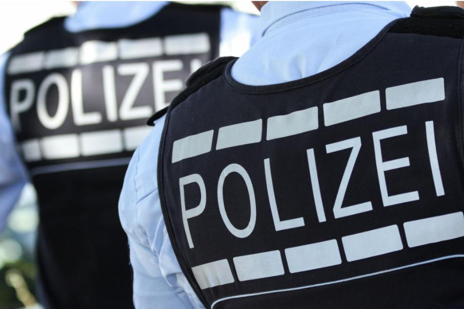 Polizisten versuchten zunächst vergeblich das Jungtier einzufangen. (Symbolbild)