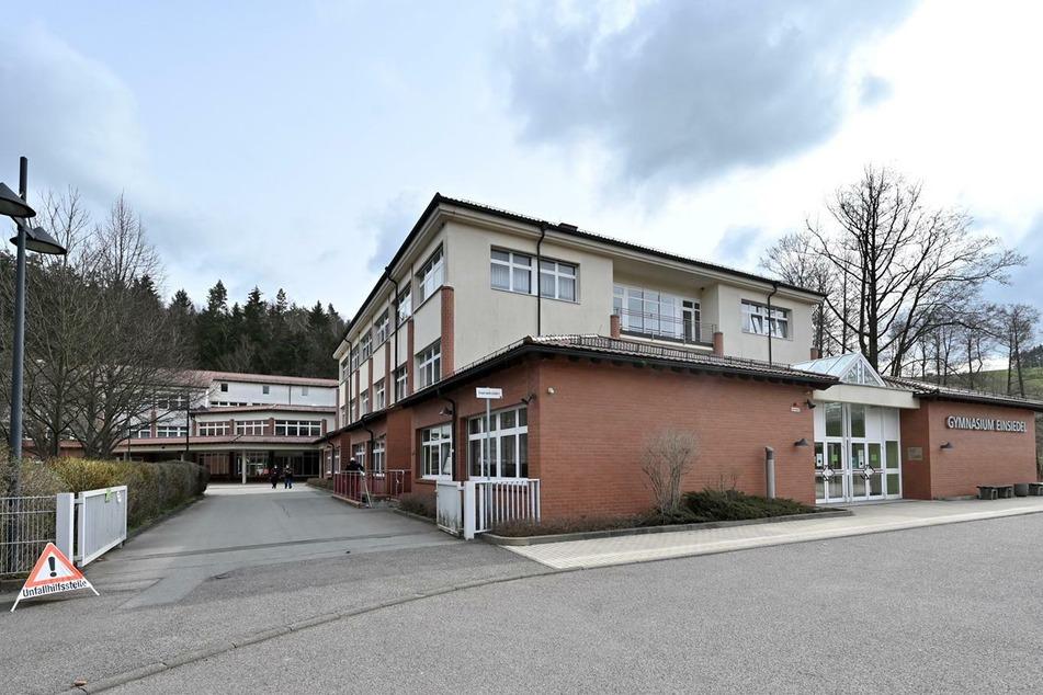Das Gymnasium Einsiedel dient derzeit als Notunterkunft.