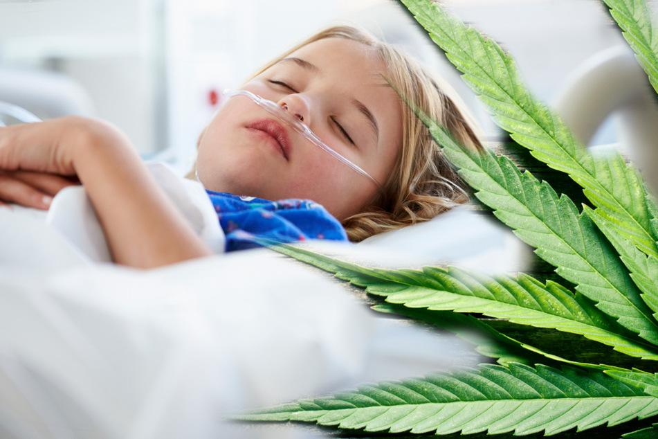 Kinder essen gespendete THC-Süßigkeiten und kommen ins Krankenhaus