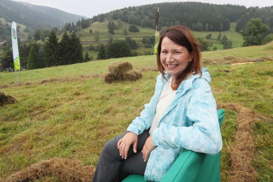 Anja Siegesmund will sich auch mehr für die Artenvielfalt und den Naturschutz einsetzen.