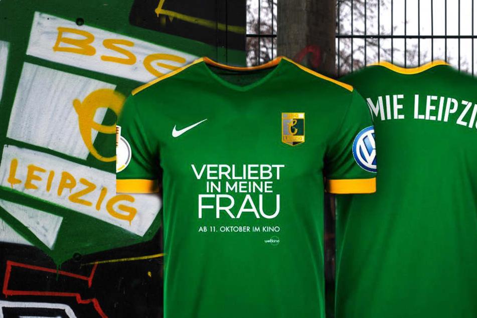 """Dieses """"edle Stück"""" muss die Elf von der BSG Chemie Leipzig beim Pokalspiel am Sonntag tragen."""