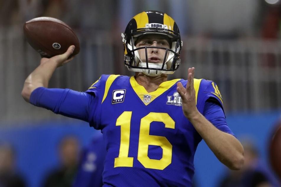 Rams-Quarterback Jared Goff wird gegen Hertha BSC eine bessere Leistung als im Super Bowl zeigen müssen, um die favorisierten Berliner schlagen zu können.