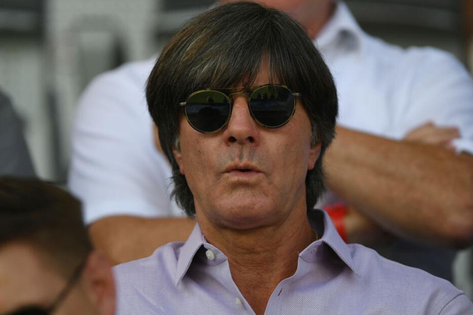 Bundestrainer Joachim Löw (59) beobachtete in Freiburg die Nationalspieler Jonas Hector und Luca Waldschmidt.