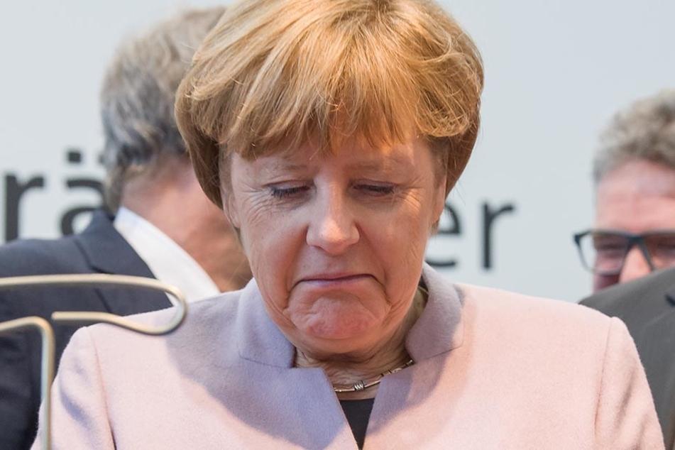 Angela Merkel musste ihre USA-Reise kurzfristig abblasen.