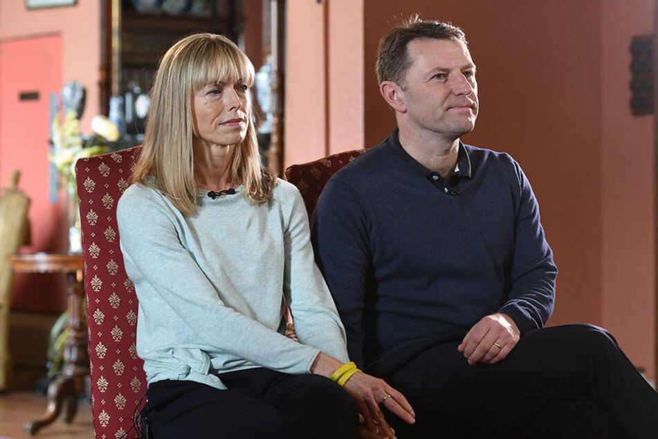 Gerry & Kate McCann, hier beim 10. Jahrestag des Verschwindens, geben die Hoffnung nicht auf, dass ihre Tochter Madeleine wiedergefunden werden kann.