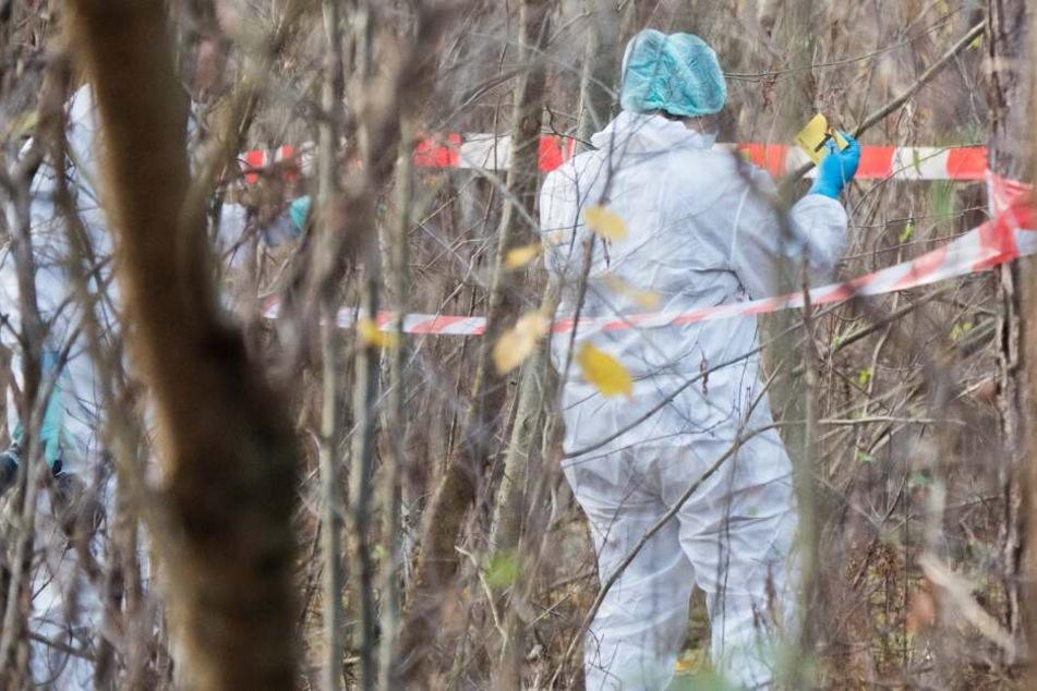 Mordkommission ermittelt: Feuerwehr findet verbrannte Leiche in Waldstück
