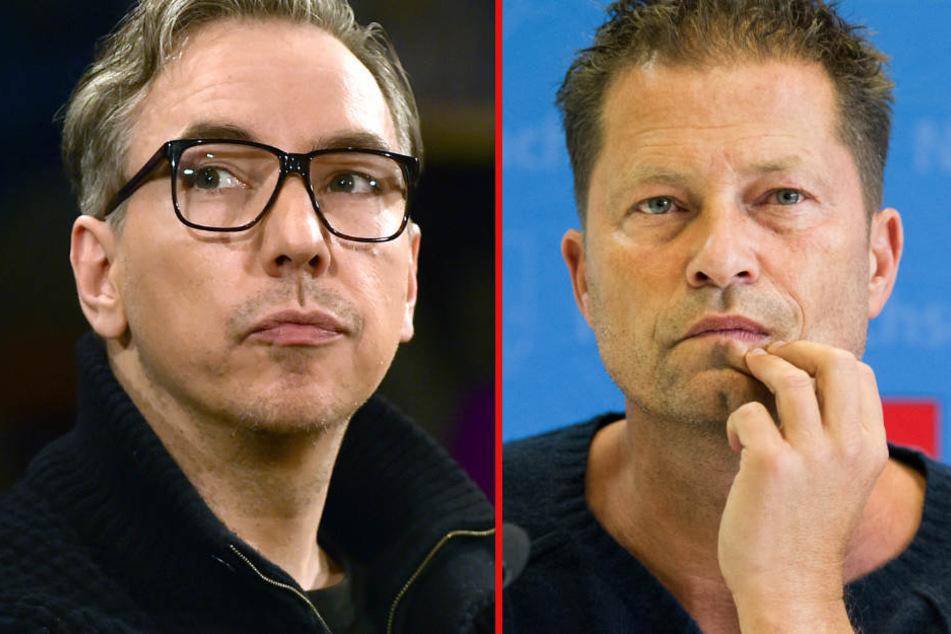 Olli Schulz (links) und Til Schweiger: Freunde werden die zwei wohl nicht mehr.