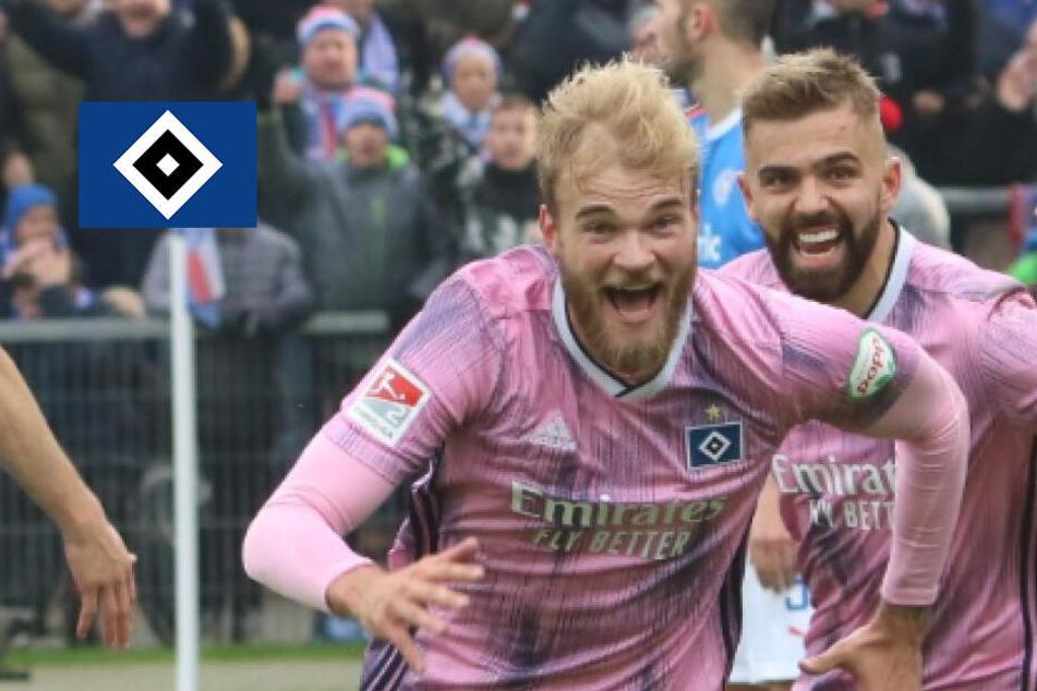HSV-Torschütze Timo Letschert: Vom Skandal-Profi zum rosa-roten Helden