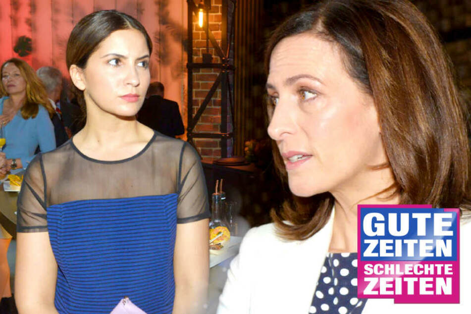 Katrins Tränenausbruch bei GZSZ: Ruiniert Laura sie endgültig?