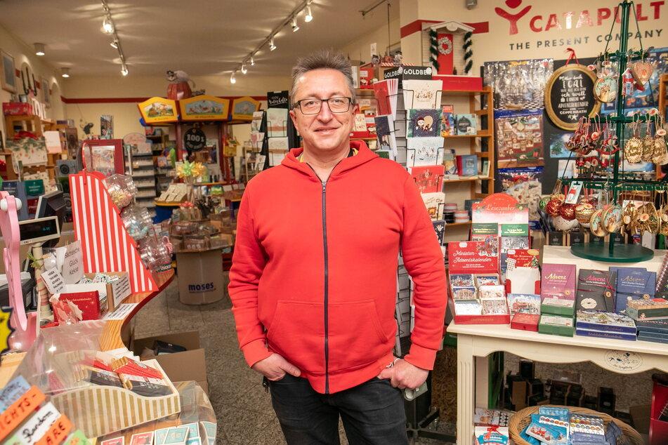 """""""Catapult""""-Chef Hendrik M. Dietrich (50) weiß: Adventsstimmung und Schenken gehören zusammen."""
