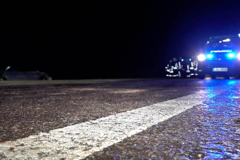 Zum Unfallzeitpunkt herrschte Straßenglätte auf der B81.