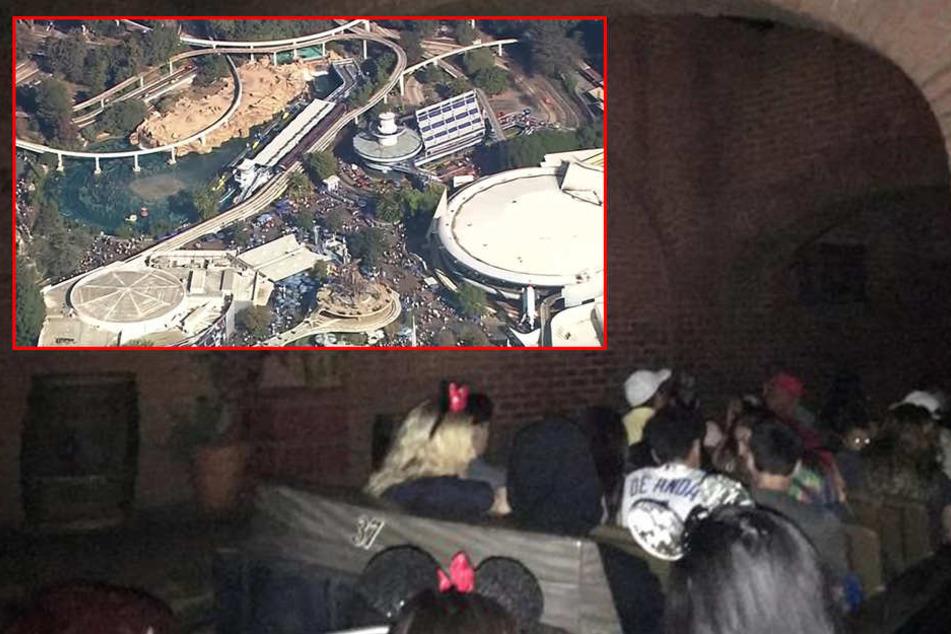 Stromausfall legt Disneyland lahm: Besucher mega sauer