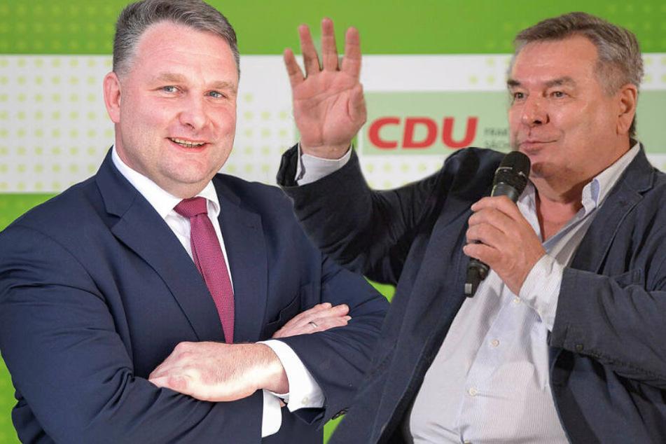 Waldi mit Hartmann auf Sachsen-Tournee