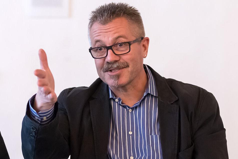 Für Ordnungsbürgermeister Miko Runkel (58, parteilos) ist die Kameraüberwachung während Veranstaltungen kein Eingriff in die Versammlungsfreiheit.