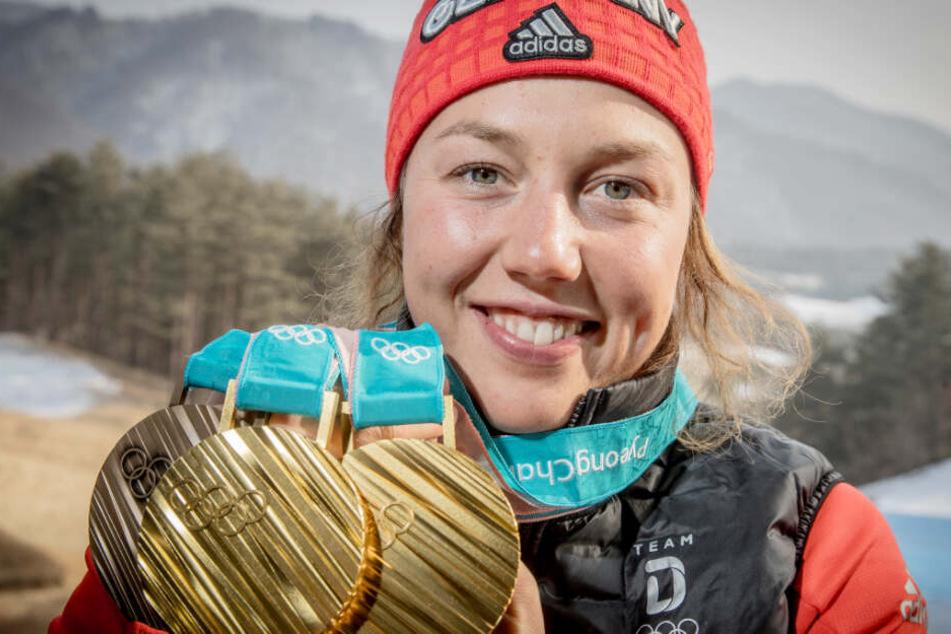 Laura Dahlmeier hat im Alter von 25 Jahren ihre Biathlon-Karriere beendet.