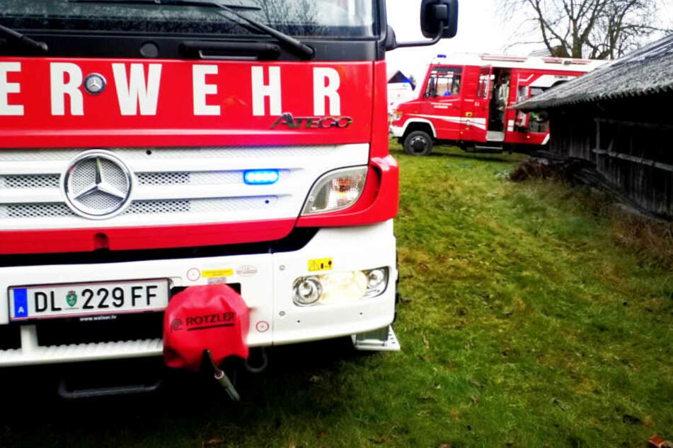 Drei Feuerwehren waren im Einsatz.