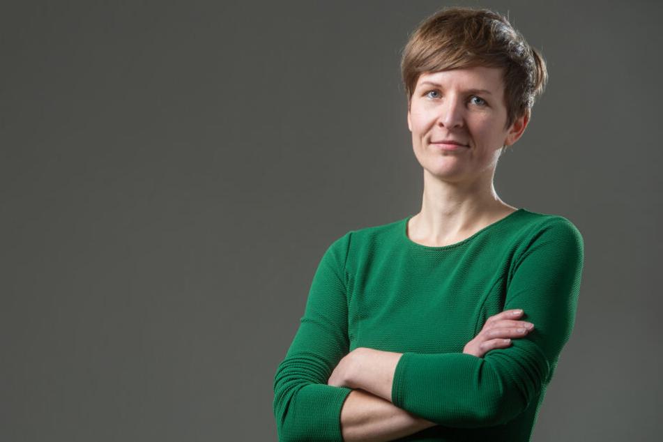 Stadträtin Susann Mäder (35, Grüne) will Schulleiter entlasten und fordert mehr Quereinsteiger.