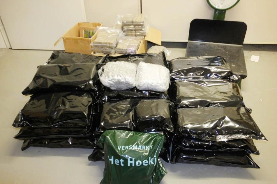 Acht Kilogramm Haschisch wurden sichergestellt. (Symbolbild)