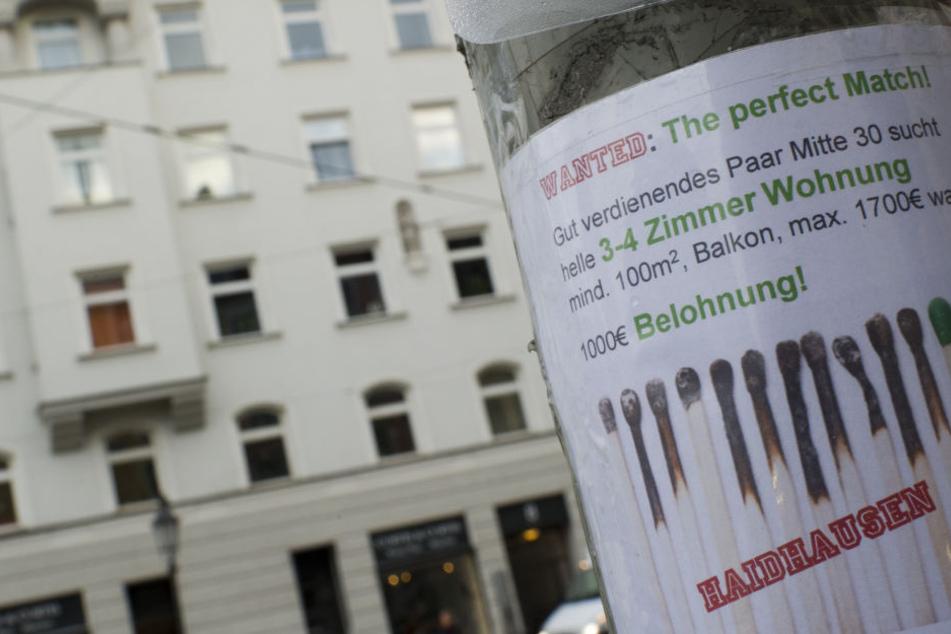 Eine Wohnung zu finden ist gerade in München sehr schwierig (Symbolbild).