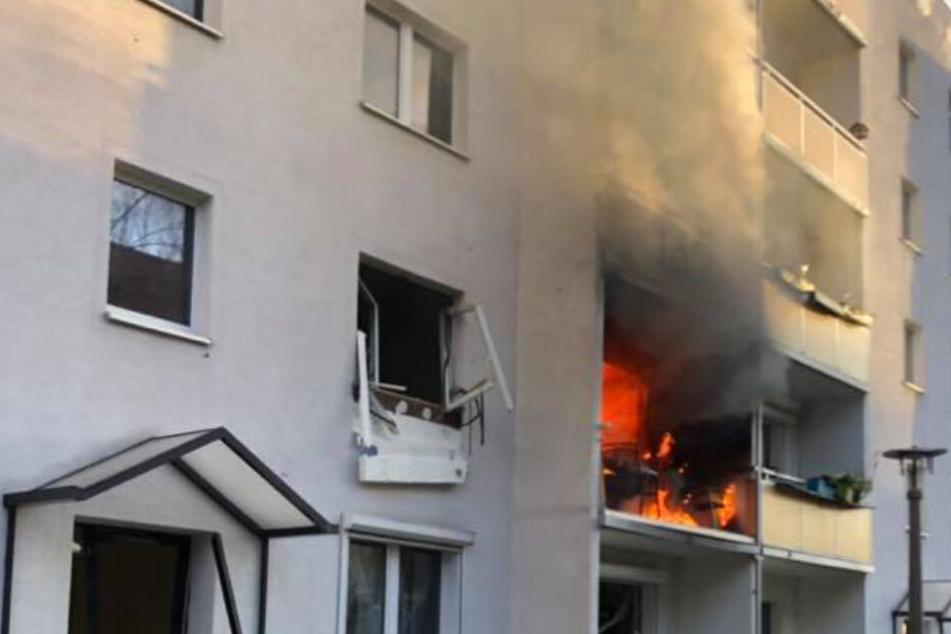 Der 78-jährige Mieter der Wohnung kam bei dem Unglück ums Leben.