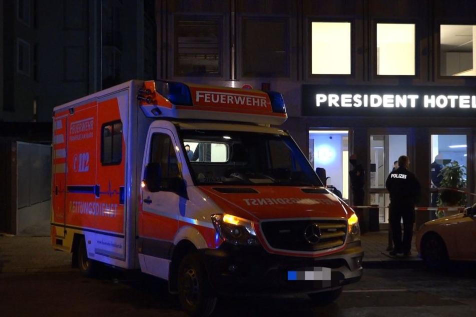 """Das Kind war aus der vierten Etage des """"President Hotel"""" gestürzt."""