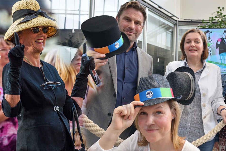 Nächstes Festival kommt: Wer spendet seinen Hut für die schönen Künste?