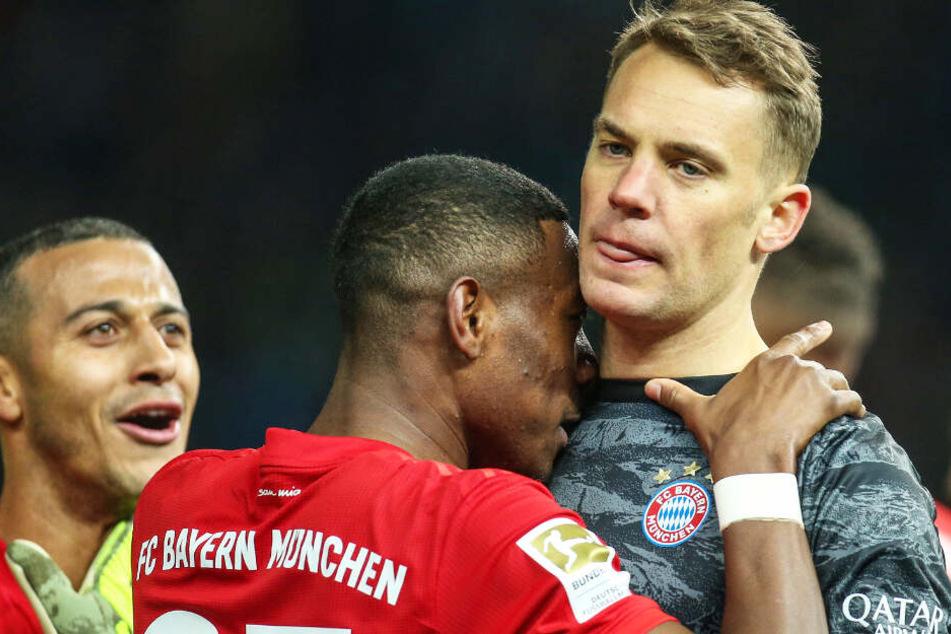 Manuel Neuer (r.) bekommt im Sommer weitere Konkurrenz im Bayern-Kasten.