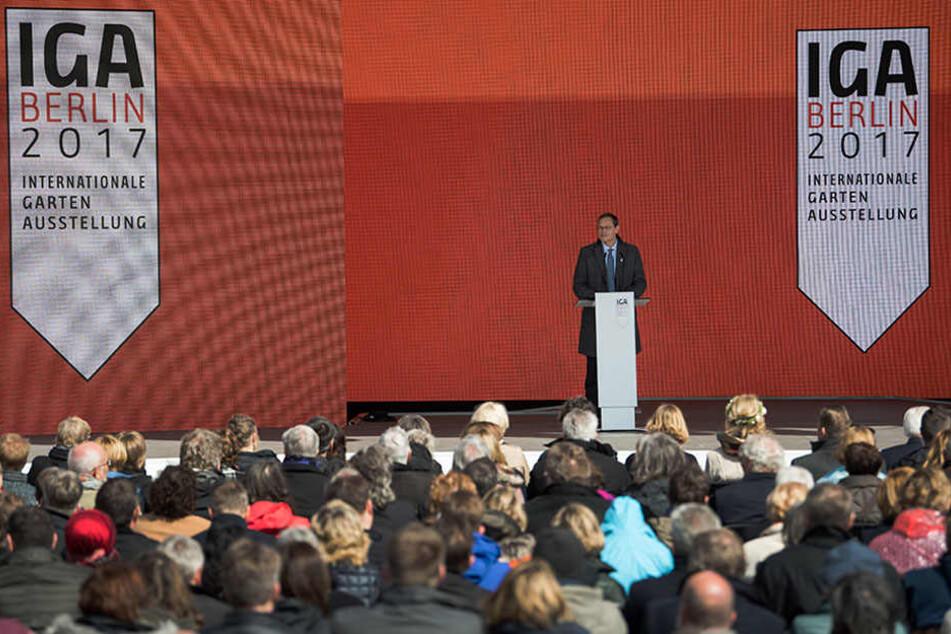 Aus verschiedenen Töpfen flossen laut IGA rund 130 Millionen Euro, das Land Berlin hat knapp zehn Millionen Euro beigesteuert.