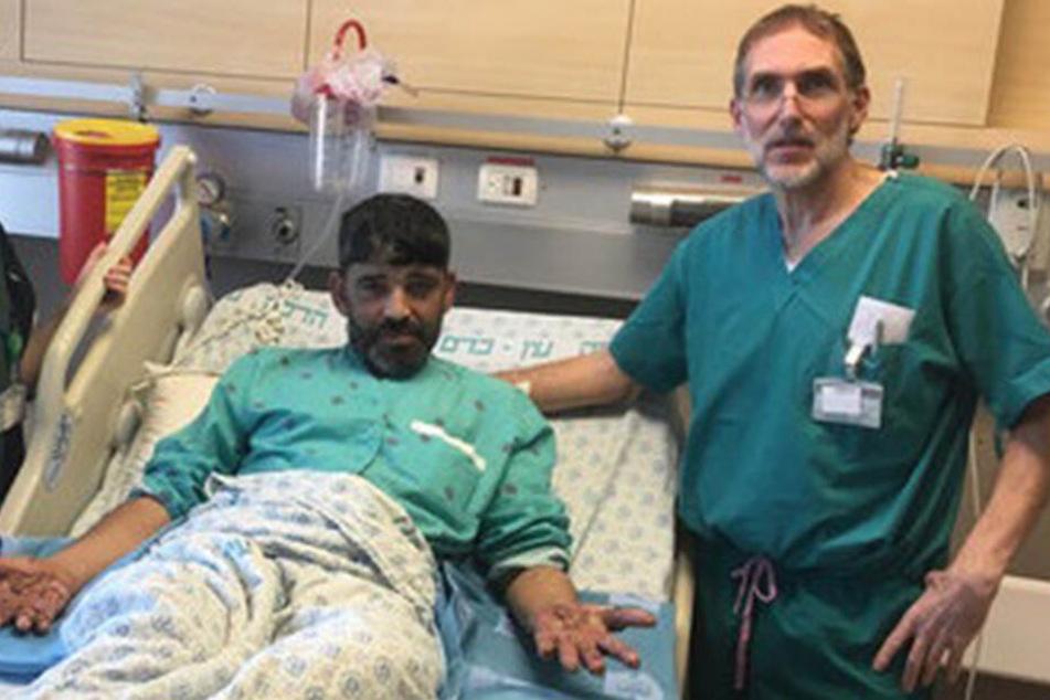 Nach der Operation sind Talulis Hände fast warzenfrei.