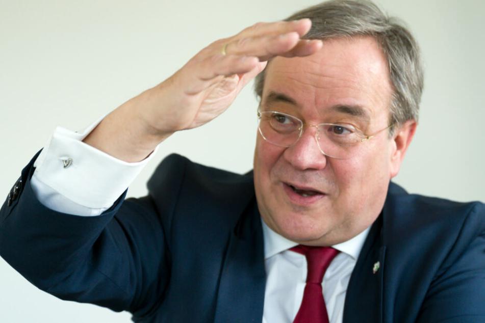 NRW-Ministerpräsident Armin Laschet verlangt Visionen