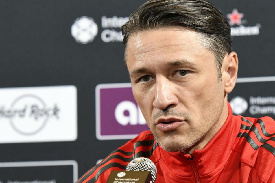 Niko Kovac und der FC Bayern München wollen auch beim Audi Cup 2019 überzeugen.
