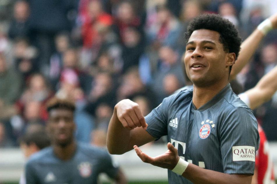 Serge Gnabry sorgt in dieser Saison für mächtig Wirbel in der Bundesliga.