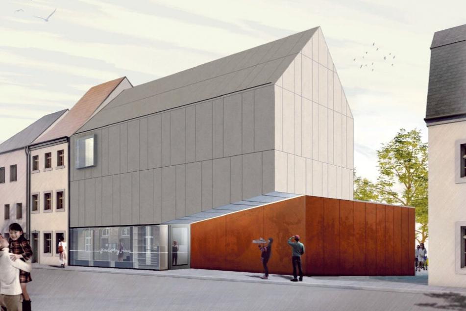 Die Nachbarhäuser mussten weg, weil ein moderner Anbau mehr Platz für das Museum im Karl May Haus bieten soll.