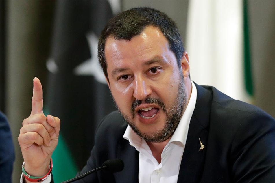 Italiens Innenminister Matteo Salvini will den 1. Spieltag der Serie A absagen.