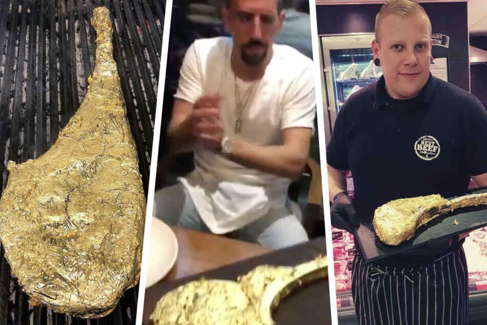 """Berlin: Echtes Schnäppchen: Fleischerei verkauft das """"Ribéry-Gold-Steak für alle"""""""