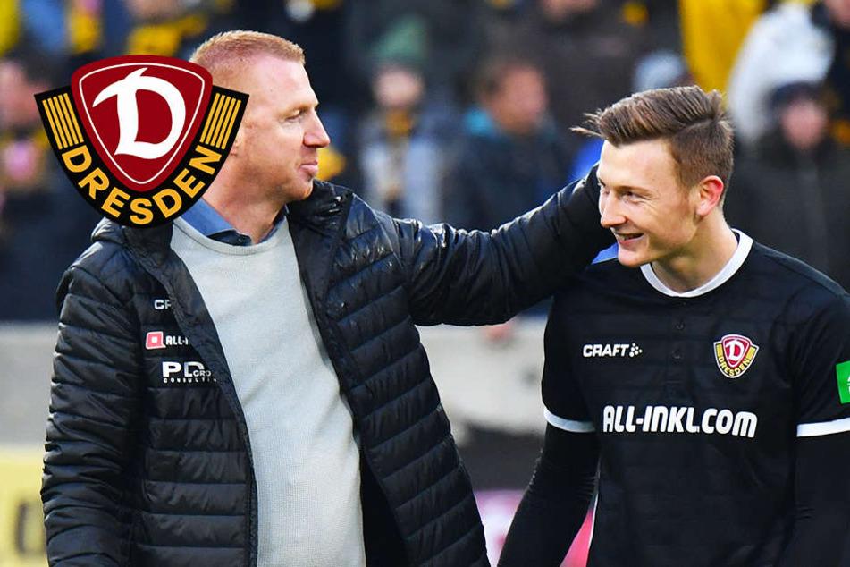"""Dynamos Schubert: """"Ich bin happy, wieder zu null gespielt zu haben"""""""