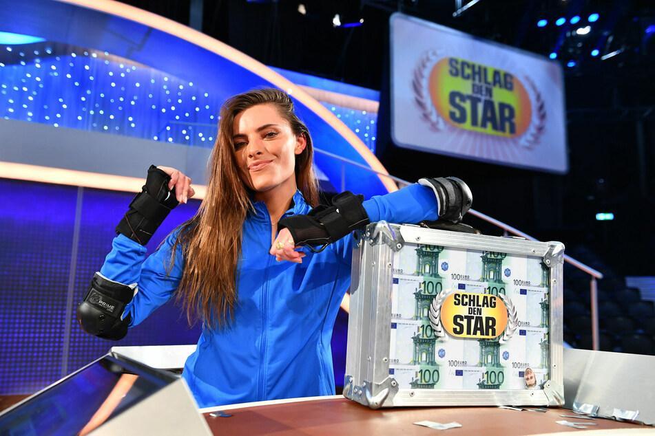 Sophia Thomalla gewann gegen Evelyn Burdecki.