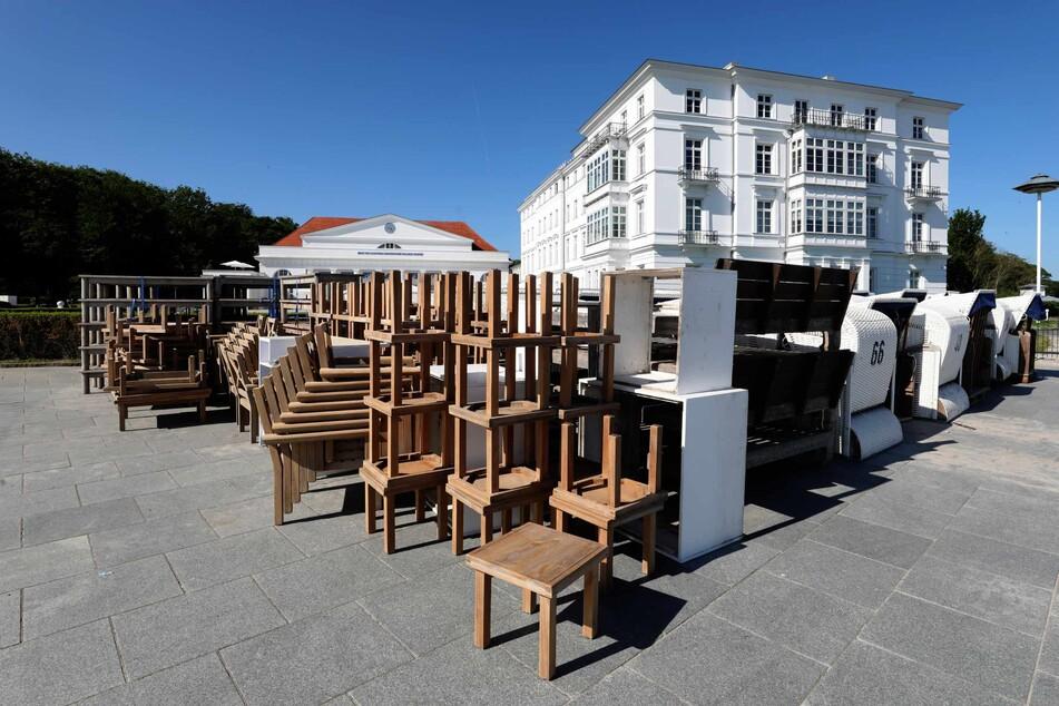 Das Grand Hotel Heiligendamm bereitet sich auf die Eröffnung vor