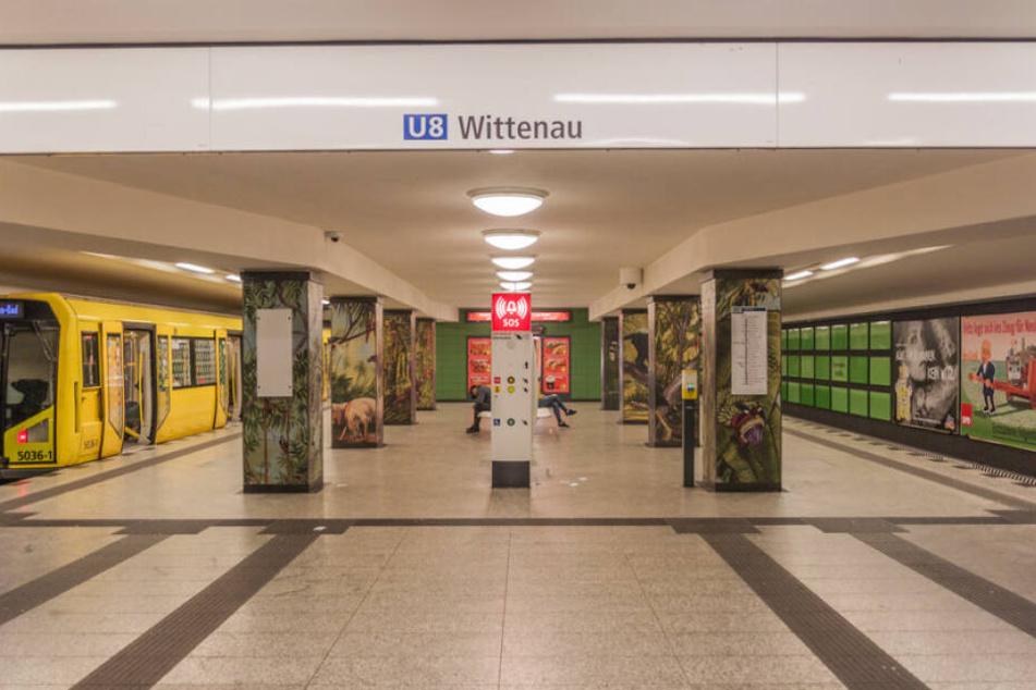 Am U-Bahnhof Wittenau wurde ein Mann gefährlich verletzt. (Symbolbild)