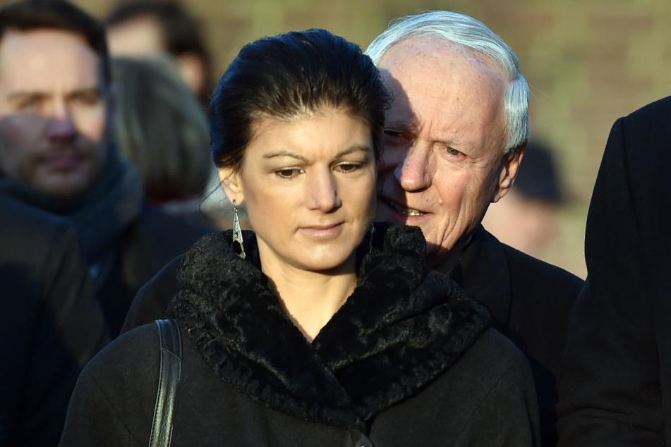 Sahra Wagenknecht und Oskar Lafontaine warnen die SPD vor einer Großen Koalition.