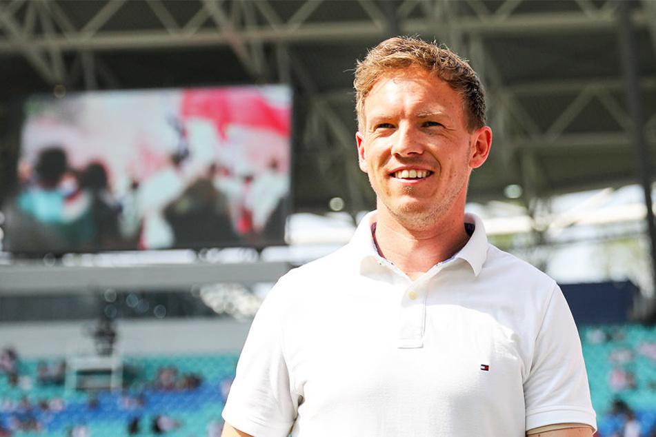 Durfte sich über einen weiteren Kantersieg seiner Mannschaft freuen: Hoffenheim-Coach Julian Nagelsmann.